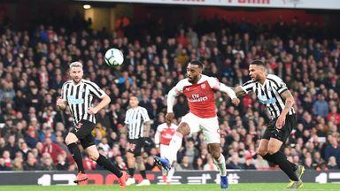 Cole praises Arsenal striker partnership