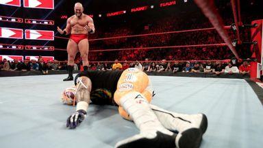 Lars Sullivan obliterates Rey Mysterio