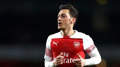 Emery 'very happy' with Ozil