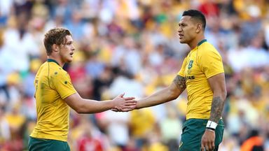 Cheika, Hooper on Folau controversy