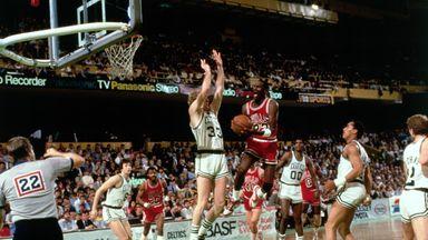 NBA Flashback: Jordan scores 63