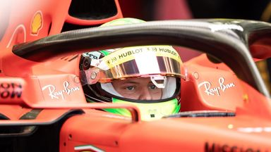 Schumacher tests for Ferrari