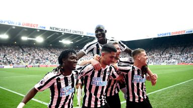 Newcastle 3-1 Southampton