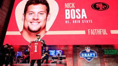 49ers pick Bosa