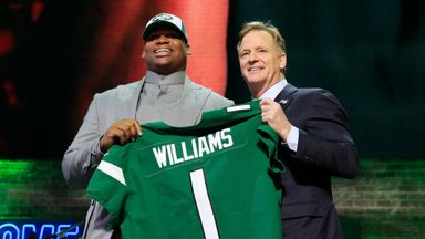 Jets take Williams with third pick