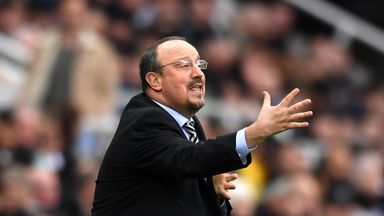 Benitez sets 40-point target
