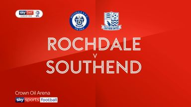 Rochdale 1-0 Southend