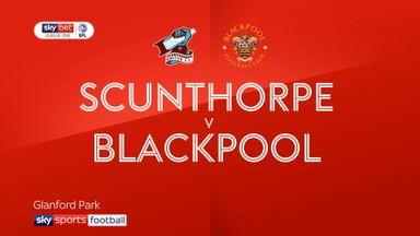 Scunthorpe 0-0 Blackpool