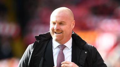 Dyche backs Burnley England call-ups