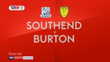 Southend 3-2 Burton