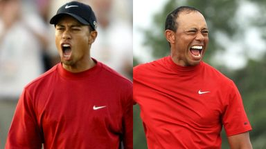 Tiger's wins: Every celebration!