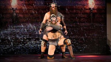 'The Viking Experience' make impression on Raw
