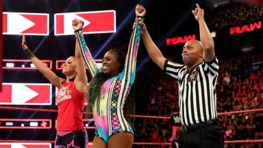 Bayley & Naomi defeat The IIconics