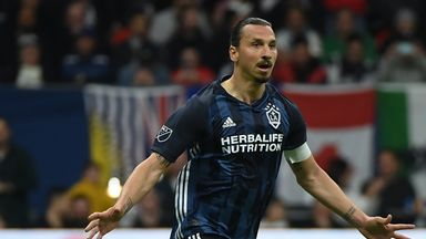 Zlatan steals the show in Galaxy win