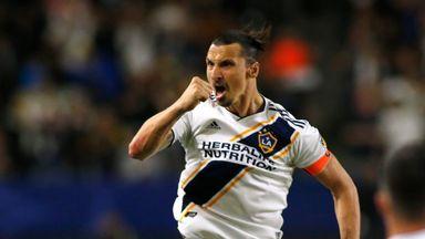 Zlatan doubles inspires Galaxy