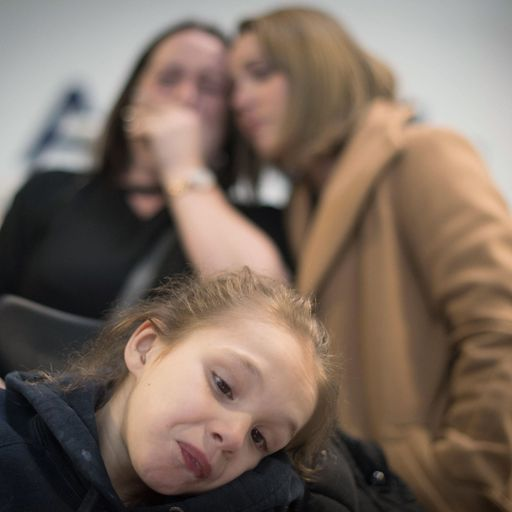 Mum weeps after medical cannabis for daughter's epilepsy is seized at airport