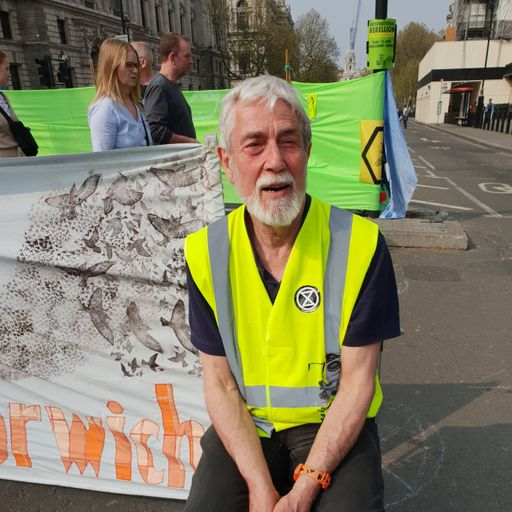 Extinction Rebellion: The faces of London protest