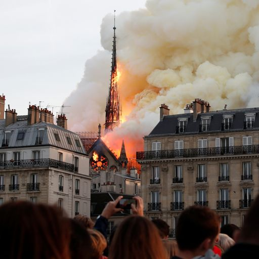 Notre-Dame fire: Timeline of how events unfolded
