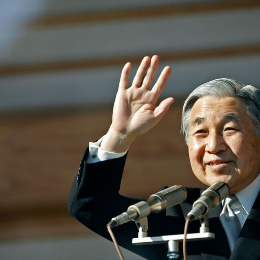 A forceful defender of peace, Japan has deep affection for its outgoing emperor