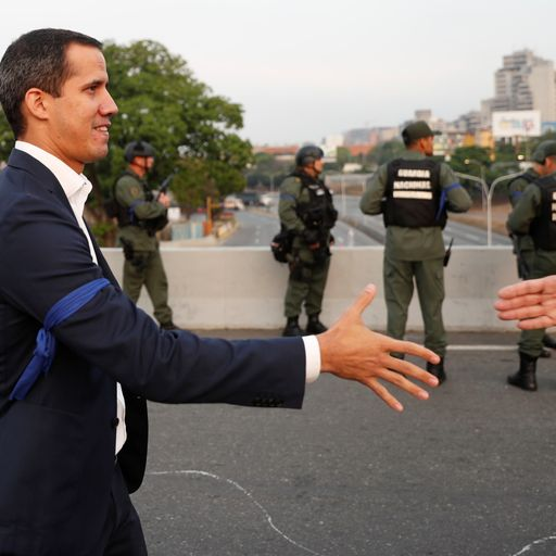 Venezuela opposition: Coup to oust Nicolas Maduro is under way