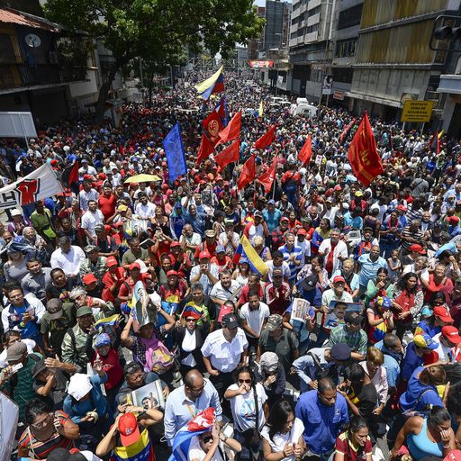 Charting Venezuela's fall into deprivation