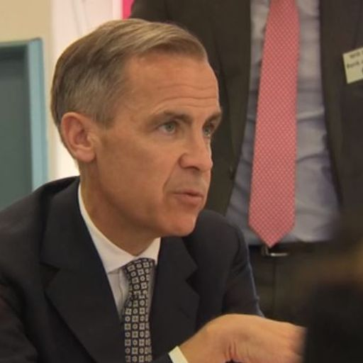 Carney says risk of no-deal Brexit now 'alarmingly high'