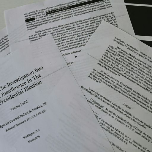 Robert Mueller report on Trump alleged campaign collusion: Key excerpts from document
