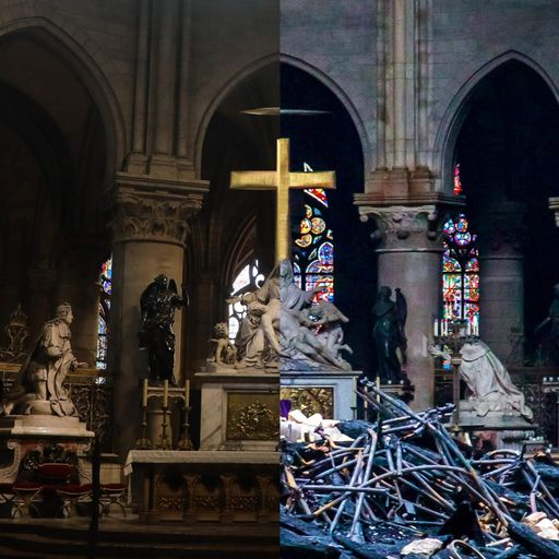 Notre-Dame fire: New images reveal devastation caused by blaze
