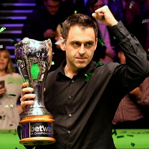 Snooker star Ronnie O'Sullivan 'finding it hard to quit' because he's 'winning more than ever'