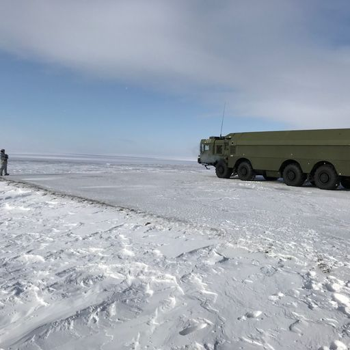 Arctic battleground: Russia's race to militarise resource-rich region