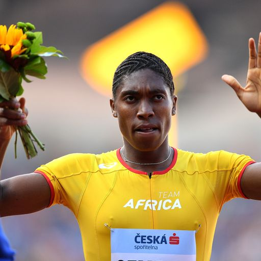 I was used by IAAF as a human guinea pig, Caster Semenya says