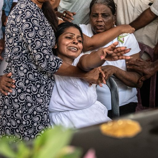 The victims of the Sri Lanka bombings