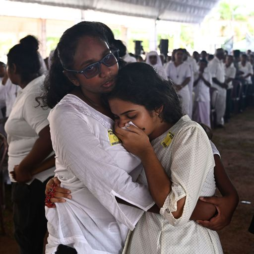 A TV chef, a newlywed and entire families - the Sri Lanka attack victims