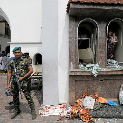 UK issues Sri Lanka travel warning to Britons after bombings