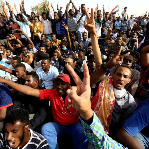 Sudan: Military oust 'tyrant' president - but battle is far from over