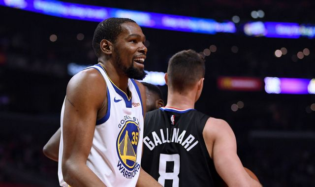 Kevin Durant fires for 33 points as Golden State Warriors take 3-1 series lead over LA Clippers