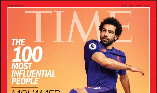 Mo Salah named one of world's 100 most influential people by Time magazine