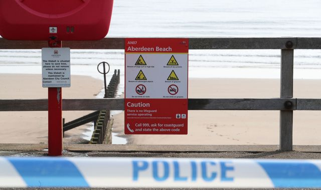 Two women die after being pulled from sea off Aberdeen beach