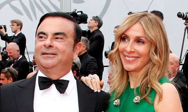 Ex-Nissan boss Carlos Ghosn banned from living with wife as he is released on bail
