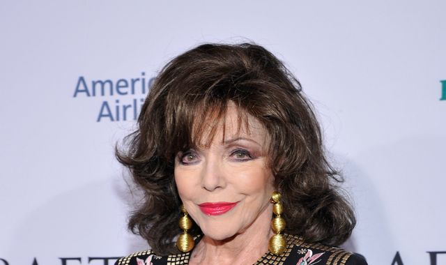 Dame Joan Collins escapes 'terrifying' fire at London flat