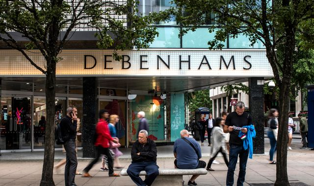 Is your local Debenhams closing? The 22 stores shutting their doors