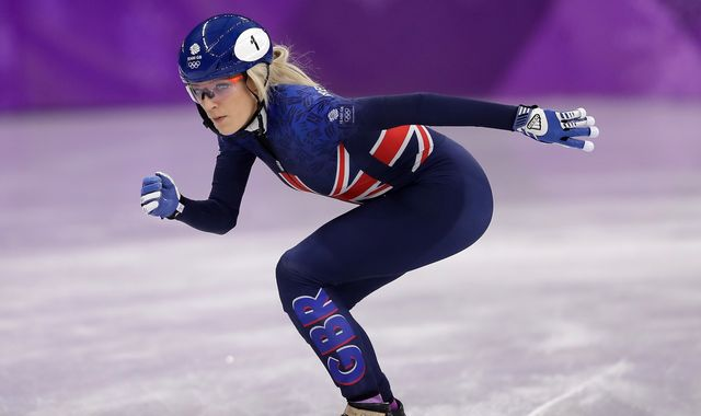 British Olympic skater Elise Christie reveals depression and anxiety battle
