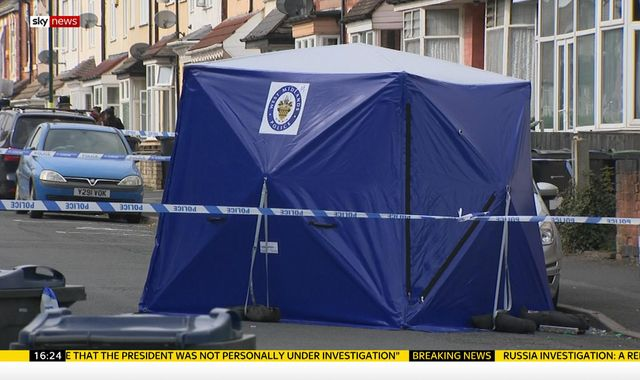 Murder inquiry after man shot dead in Birmingham