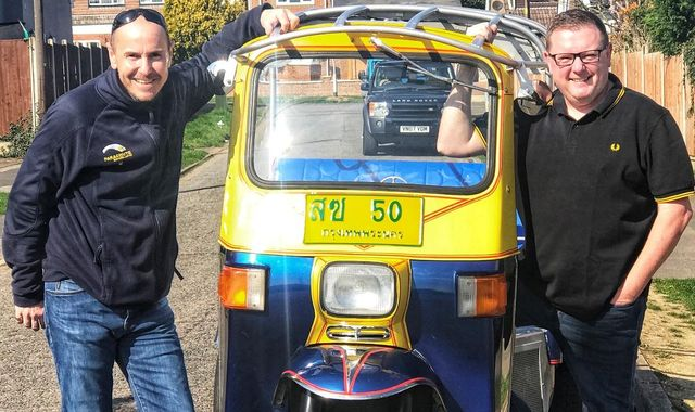 Man who bought tuk tuk after 'boozy night' aiming for speed record