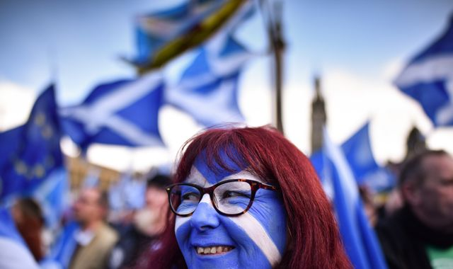 Sturgeon to set out 'vision' for a second independence referendum