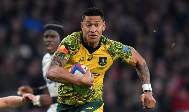 Israel Folau: GoFundMe takes down crowdfunding page set up by sacked rugby star