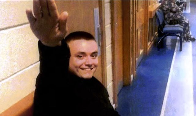 Far-right terrorist Jack Renshaw gives Nazi salute as he is jailed for plot to murder MP