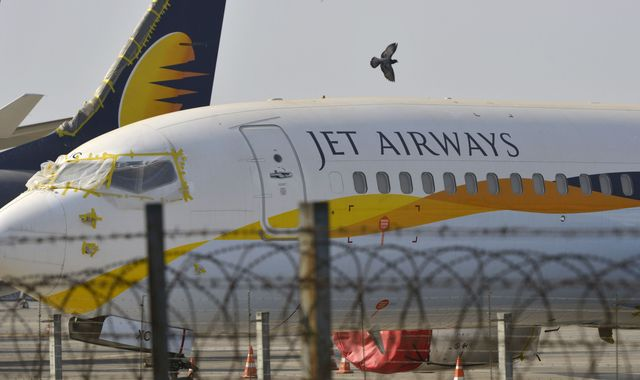 Hopes fade for Jet Airways return as shares plunge