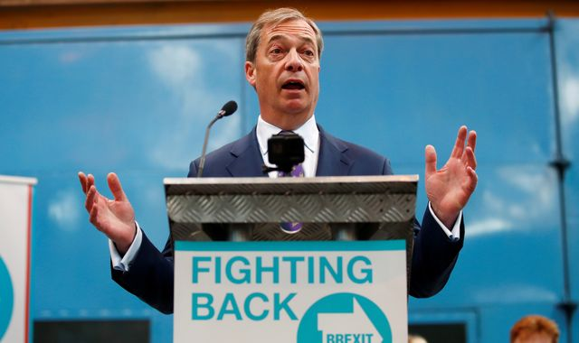 Nigel Farage: EU to investigate Brexit Party leader over 'undeclared' gifts