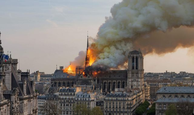 Notre-Dame: Police say 'short circuit' most likely cause of devastating blaze